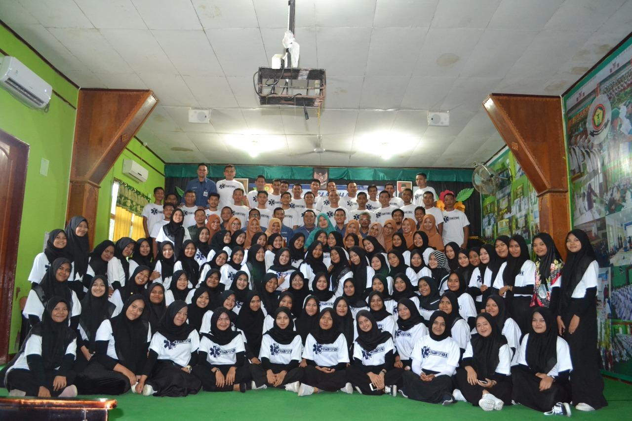 Penutupan Pelatihan BT&CLS Akper Kesdam IM Banda Aceh