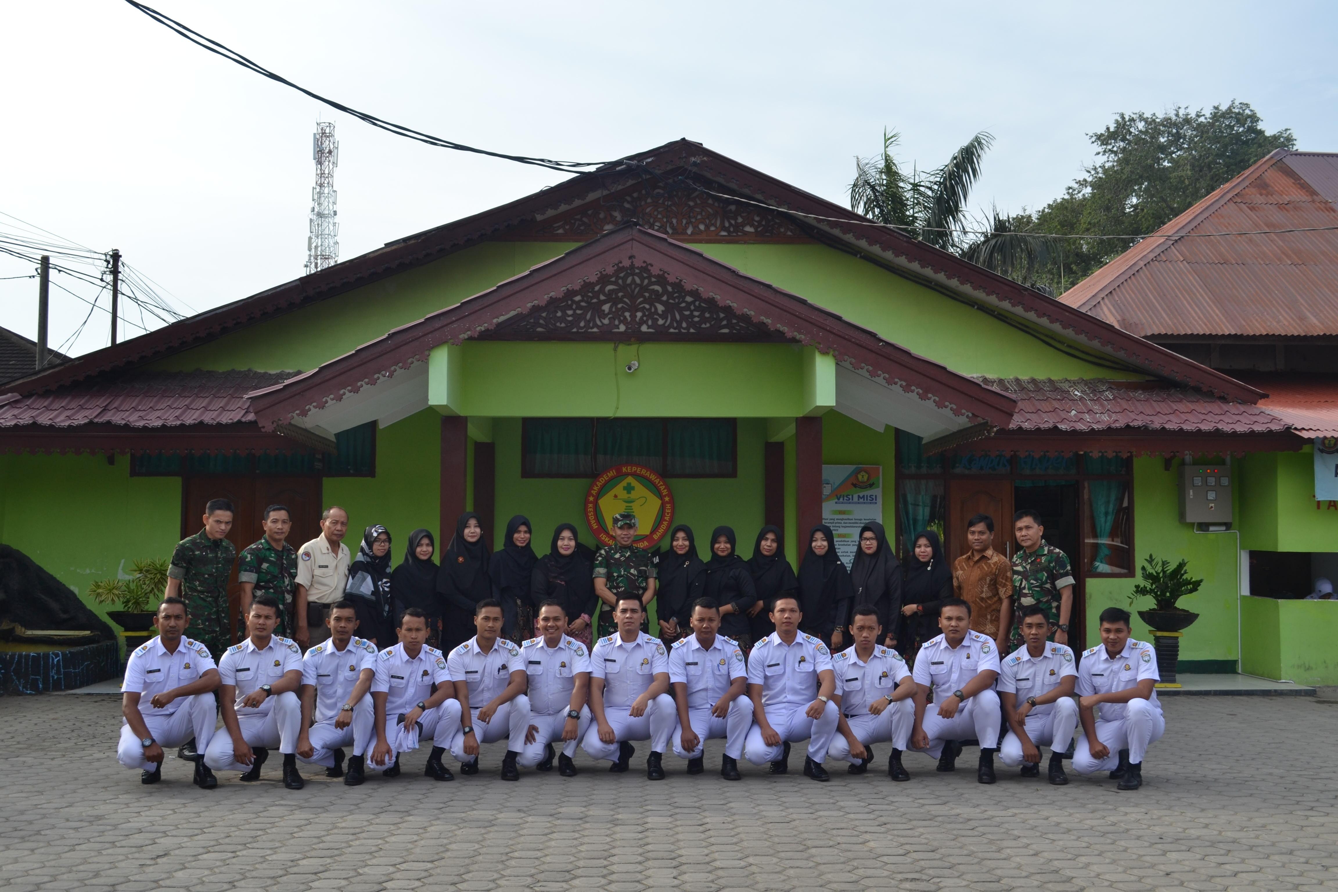 Tim Dalwasdik Kembali Berkunjung ke Akper Kesdam IM Banda Aceh